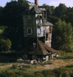 The Burrow 10150 Is Home Of Weasleys And Located In Devon England It Surrounded By Hills Meadows One Its Most